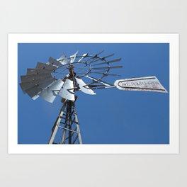 Dubinky Windmill Art Print