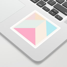 Ultra Geometric V Sticker