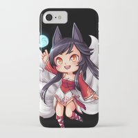 league of legends iPhone & iPod Cases featuring League of Legends | Ahri by Kalce
