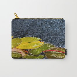 Lily pads in water Carry-All Pouch