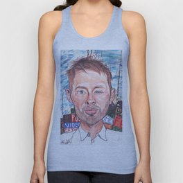 Thom Yorke Radiohead Hail to The Theif Unisex Tank Top
