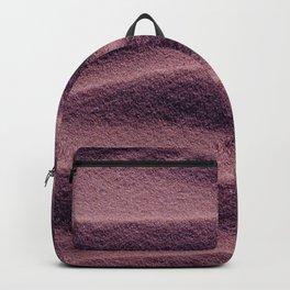 Sand_Ripples - Eggplant Backpack