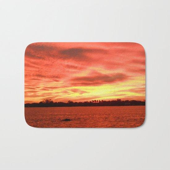 Florida Sunset Horizon Bath Mat