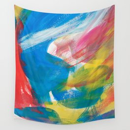 Abstract Artwork Colourful #4 Wall Tapestry