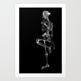 Michael Undead Art Print