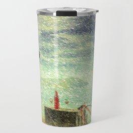 Down By The Sea Travel Mug