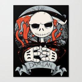 La Muerte jack Canvas Print