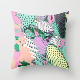 Cactyed Throw Pillow