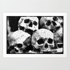 Skulls II Art Print