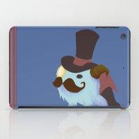 gentleman iPad Cases featuring Gentleman by Cali Inouye