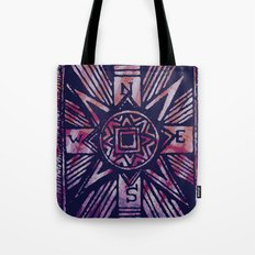 colored compass Tote Bag