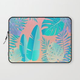 Tropics ( monstera and banana leaf pattern ) Laptop Sleeve