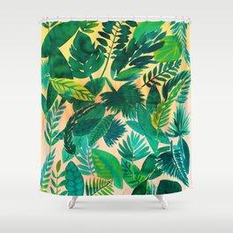 Jungle Leaf Shower Curtain