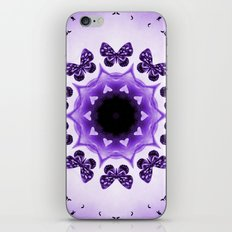 All things with wings (purple) iPhone & iPod Skin