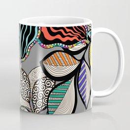 Floral pattern draw Coffee Mug