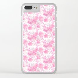 Gaura Floral Clear iPhone Case