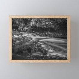 Ocqueoc Falls, Michigan. Framed Mini Art Print