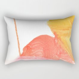 abstract painting XVII Rectangular Pillow