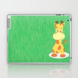 A happy giraffe Laptop & iPad Skin