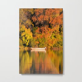 Colorful Fishing Metal Print