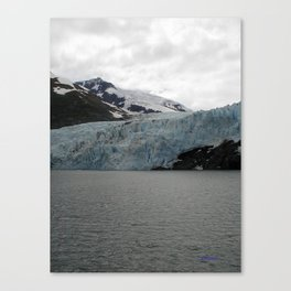 TEXTURES -- A Face of Portage Glacier Canvas Print