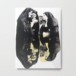 Sister act Metal Print