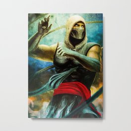Fighting Khrome Metal Print