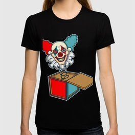 Clown Game Kids horror scared movie book gift T-shirt