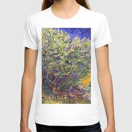 """Vincent van Gogh """"Lilac Bush"""" T-shirt"""