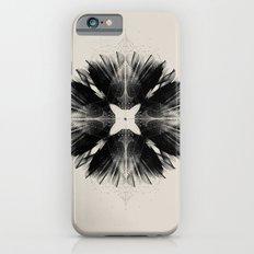 Black Flower iPhone 6s Slim Case
