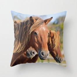 A Glance Throw Pillow
