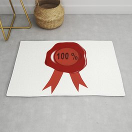 Wax Stamp 100 Percent Rug