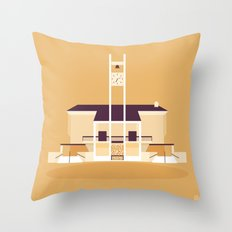 Glendale Adventist Academy Chapel Throw Pillow
