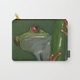 Red Eyed Tree Frog Art Carry-All Pouch