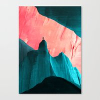 Canvas Prints featuring We understand only after by Adam Priester