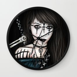 Voices in the Dark Wall Clock