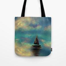 Water mirror Tote Bag