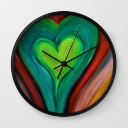 Irish Heart  Wall Clock