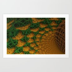 Organika Art Print