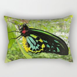 a goliath birdwing butterfly Rectangular Pillow