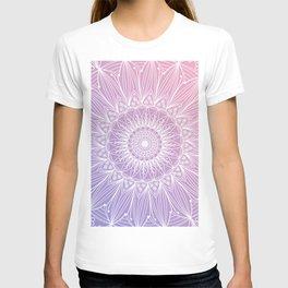 Floral mandala on pastel shades n.1 T-shirt