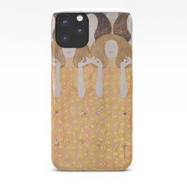 Gustav Klimt - Choir of Angels (Chor Der Paradiesengel) iPhone Case