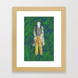 Collage Collection - Mike Framed Art Print