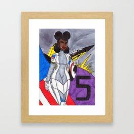 The Bravest of the Brave Framed Art Print