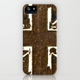The rusted Union Jack iPhone Case