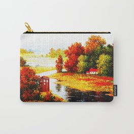Tardis In The River Side Carry-All Pouch