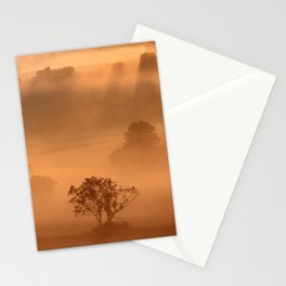 """""""Dawn"""" whispered the mist Stationery Cards"""