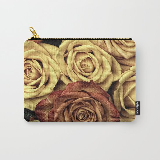 Roses jaunes Carry-All Pouch