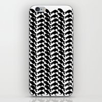 crow iPhone & iPod Skins featuring Crow by Emmanuelle Ly