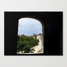 From the Window Canvas Print